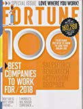 img - for Fortune magazine March 2018 The 100 Best Companies To Work For book / textbook / text book