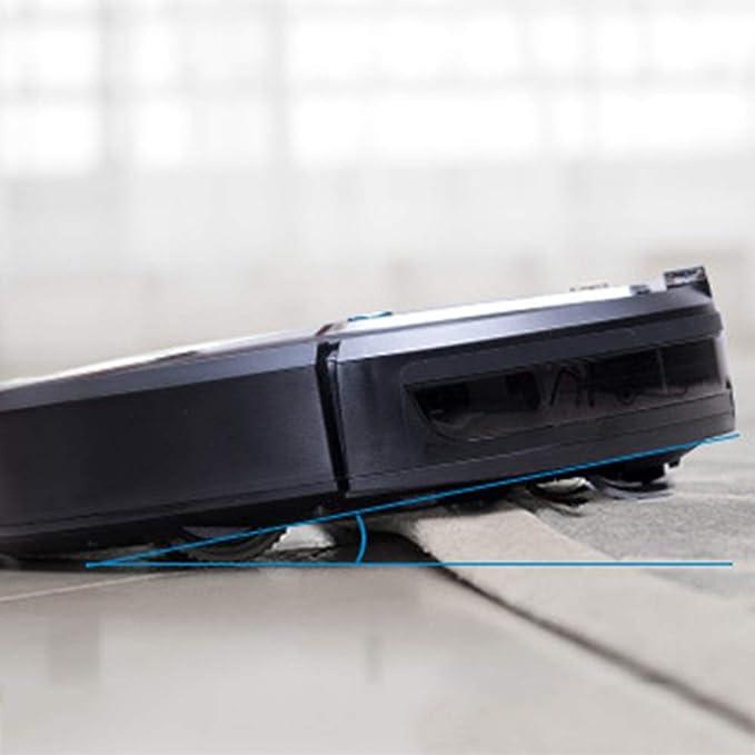 Robot Aspirador,Multifuncional Aspirador, Inteligentes Limpieza Aspirador,Anti-Colisión System,Sensores Anticaída,Tecnología Infrarroja,Adecuado para El ...