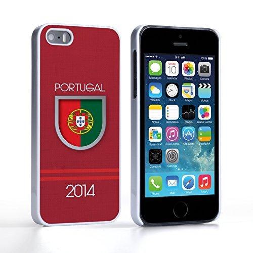 Caseflex iPhone 5 / 5S Hülle Portugal Weltmeisterschaft Hart Schutzhülle
