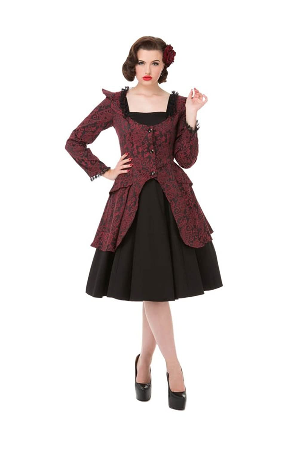 Steampunk Dresses | Women & Girl Costumes Hearts & Roses Victorian Suit (Shipped from US and US Sizes) $64.88 AT vintagedancer.com