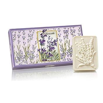 Saponificio Artigianale Fiorentino Lavender Soap Set 3 x 125g (4.40 oz)