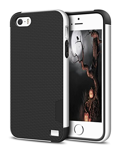 Shockproof Armor Case for Apple iPhone SE/5S/5 (White) - 6