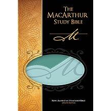 New American Standard Bible - NASB - MacArthur Personal Size Study Bible: Imitation Leather - Green