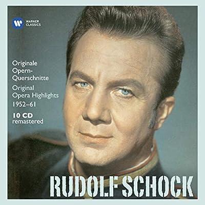 Rudolf Schock - Original Opera Highlights : Rudolf Schock, Various: Amazon.es: Música