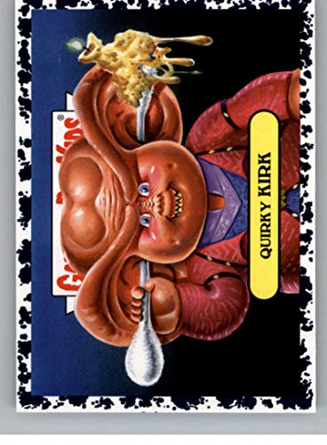 2019 Topps Garbage Pail Kids We Hate the '90s TV Sticker B-Names Bruised Non-Sport #14 QUIRKY KIRK Collectible Trading Card Sticker (Star Trek Deep S