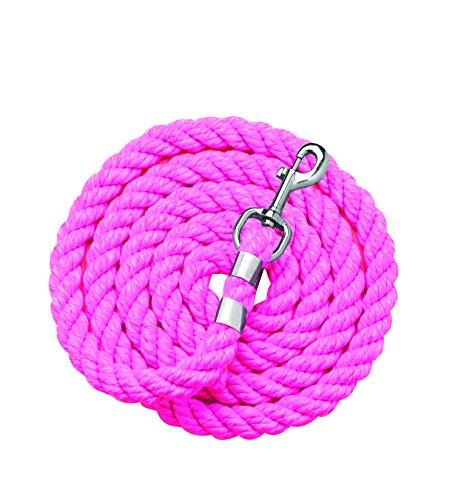 Perri's Cotton Lead, Hot Pink, 1/2