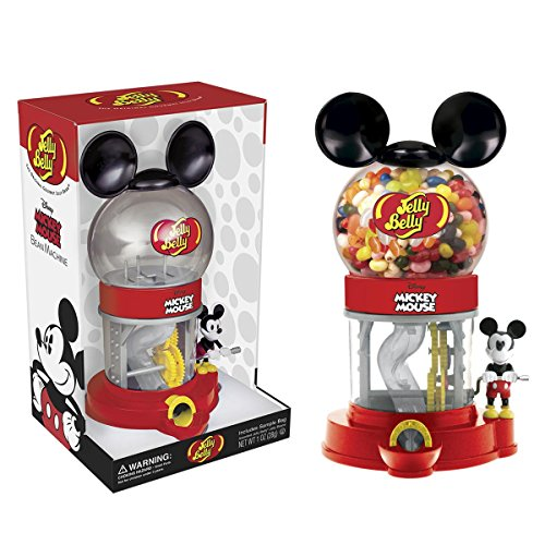 Jelly Belly 2018 Mickey Mouse Bean Machine w/1oz Jellybeans