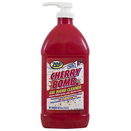 Zep Cherry Bomb Hand Cleaner (Ca) 48 ounce ZUCBHC48CA