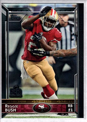 Football NFL 2015 Topps #69 Reggie Bush 49ers