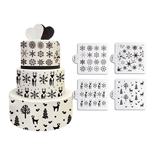 ART Kitchenware Snowflakes Decorating Semi Transparent product image