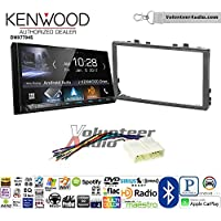 Volunteer Audio Kenwood DMX7704S Double Din Radio Install Kit with Apple CarPlay Android Auto Bluetooth Fits 1998-2002 Honda Accord, 1999-2005 Honda Civic (Excludes Si Models)