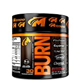 Burn – Cherry Berry / 103g Focus & Concentration, Fat Loss and Energy – Transparent Label For Sale
