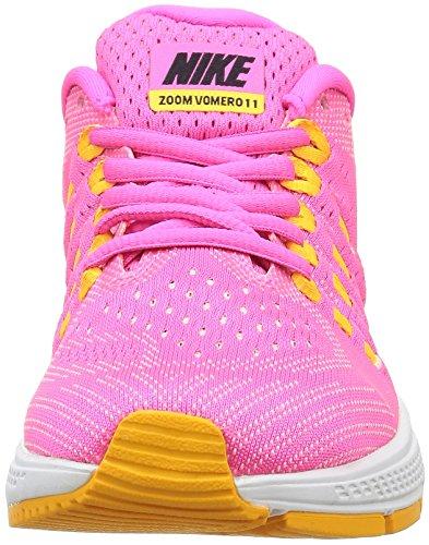 Nike Vrouwen Air Zoom Vomero 11 Hardloopschoen Roze Blast / Zwart-laser Oranje-atomaire Roze