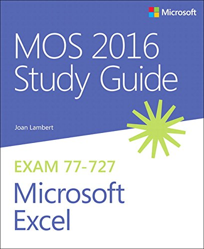 Picture of a MOS 2016 Study Guide for 9780735699434