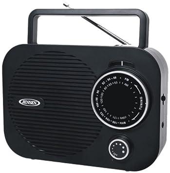 Amazon Jensen MR 550 Portable AM FM Radio With Aux Line In