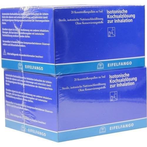 ISOTONISCHE KOCHSALZ Z INH 40X5ml Inhalationslösung PZN:7027367