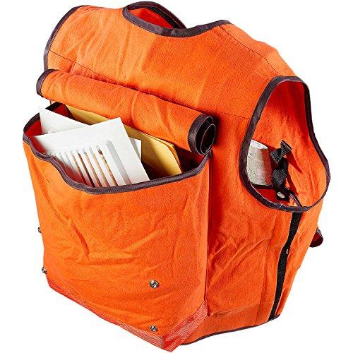 JIM-GEM Pro 10-Pocket Cotton Army Duck Cruiser Vest, X-Large, 43-46, Orange by Jim Gem (Image #1)