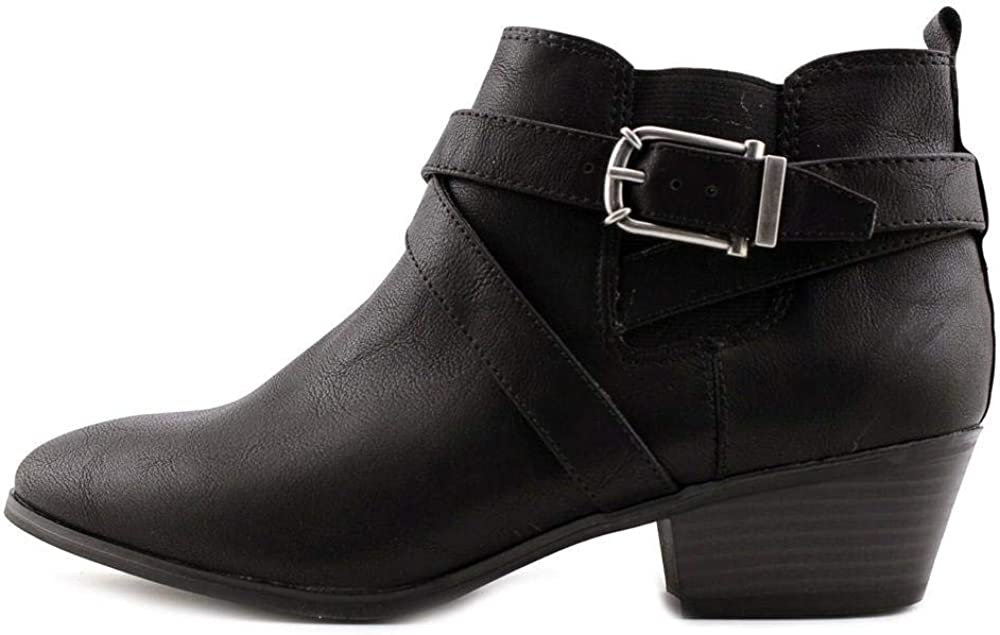Style /& Co Womens Harperr Almond Toe Ankle Fashion Boots Renewed