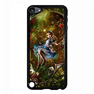 Ipod Touch 5th Generation Cover Case Alice'S Adventures In Wonderland Phone Case Visual Design Phone Case Alice Cover Case