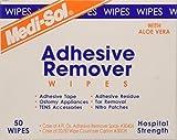 De-Solv-it! 30037 Orange Sol 50 Count Medi-Sol Adhesive Remover Wipes
