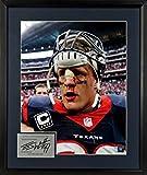 "Houston Texans J.J. Watt ""Bloody Warrior"" 11x14 Photograph (SGA Signature Series) Framed"