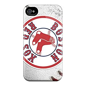 Great Hard Cell-phone Cases For Iphone 4/4s (dJO18163ZCCU) Unique Design Colorful Boston Red Sox Series