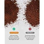 Sboly-Macinacaffe-a-Macina-Conica-Macinino-a-Macina-Regolabile-in-Acciaio-Inox-con-19-Livelli-di-Macinatura-Precisa-Macinacaffe-Elettrico-per-Macchine-per-Caffe-Filtro-Caffettiere-a-Filtro
