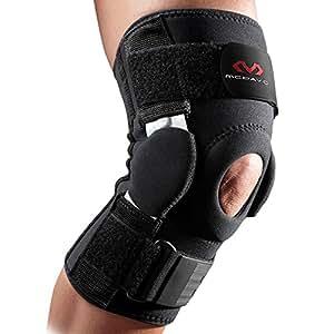 McDavid Genuine con bisagras de disco dual - Soporte, protección máxima, prevenir lesiones, neopreno sin látex, cómodo, fácil de usar, tejido resistente de nylon, recuperación, rehabilitación X-Large