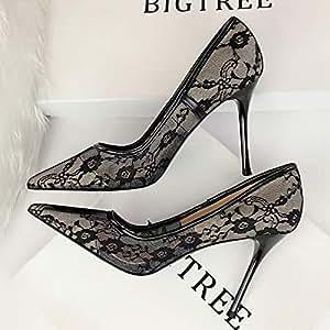 Yukun zapatos de tacón alto Wind High Heel Women s Shoes Stiletto ... 4fceb46df957