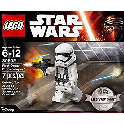 LEGO 30602 First Order Stromtrooper Exclusive 2016 Minifigure Bagged: Toys & Games