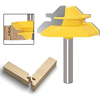 APLUS 45 graden slot-middensnijder, 8 mm, houtfrees, groeffrees, tapverbinding, snijder voor houtsnijgereedschap, voor…