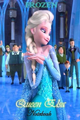 Queen Elsa: Disney Frozen Themed Notebook Journal 6