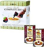 Dean Jacob's Crème Brulée Complete Kit with 2 Additional Original Mixes