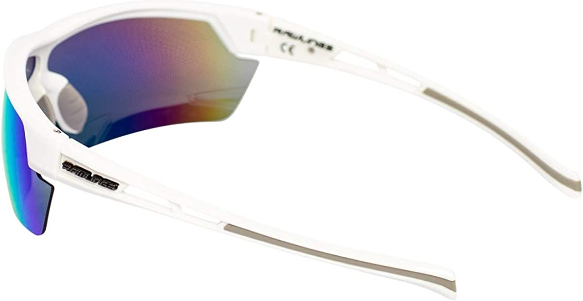 Rawlings RY134 Youth Baseball Shield Sunglasses Lightweight Sports Youth Sun Glasses for Running Cycling Softball Rowing