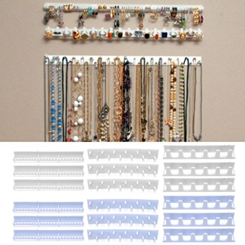 Amrka Jewelery Display Storage Hooks Adhesive Paste Hanger Rack Ornaments Sticky Hook - Own Glasses Your Build