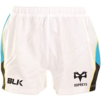 BLK Ospreys 2014/15 Alternate Players Authentic Rugby Shorts