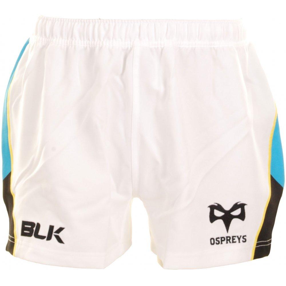 BLK Ospreys 2014//15 Short de Rugby Authentique Altern/é des Joueurs