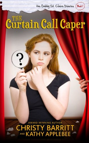 book cover of The Curtain Call Caper