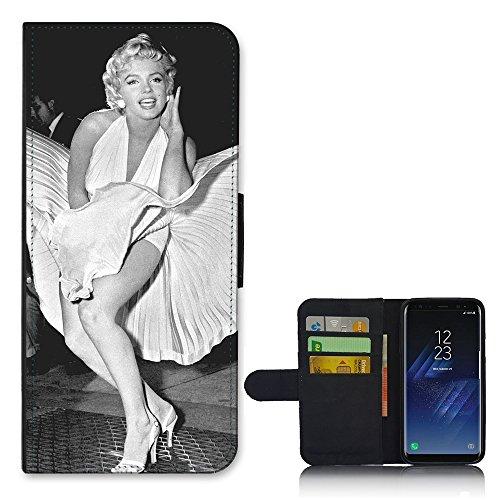 Pour Samsung Galaxy S Plus - Robe Marylin De Couverture Flip Portefeuille