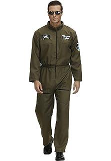 GJJN - Disfraz de piloto de Combate de la Fuerza aérea para ...