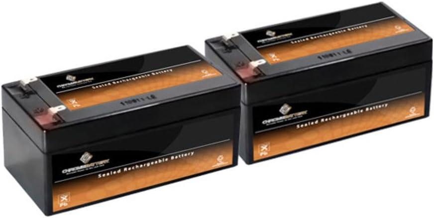 12V 3.5AH SLA Battery Replaces BP3-12 BP3.6-12 CF12V2.6 CFM12V3 CP1232-2PK