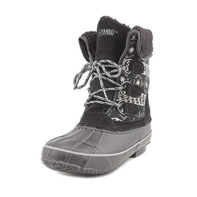 Amazon.com | Khombu Maya Womens Leather Winter Boots