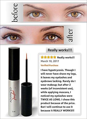 f892eac0205 MAXLASH Luxury Organic Eyelash Growth Serum 3ml-Best Natural Eyelash Serum  - 100% Authentic,Satisfaction or Your.