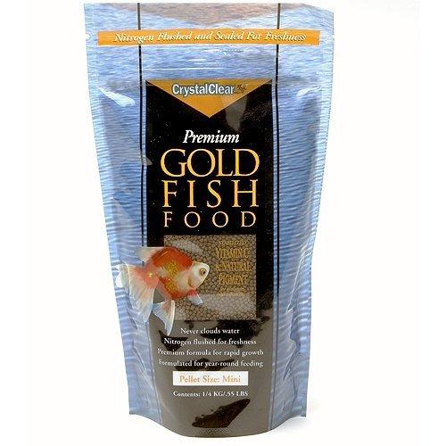 Koi Food Mini Pellet, 8.8 oz, Crystal Clear, Color Growth &