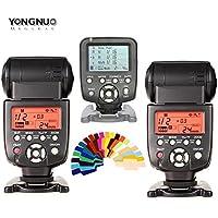 Yongnuo YN560 III 2 PCS Flash Speedlite kit + YN560 TX Flash Controller for Canon DSLR Cameras