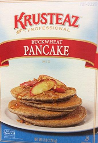 Krusteaz Buckwheat Pancake Mix, - 5 Pancake Lb