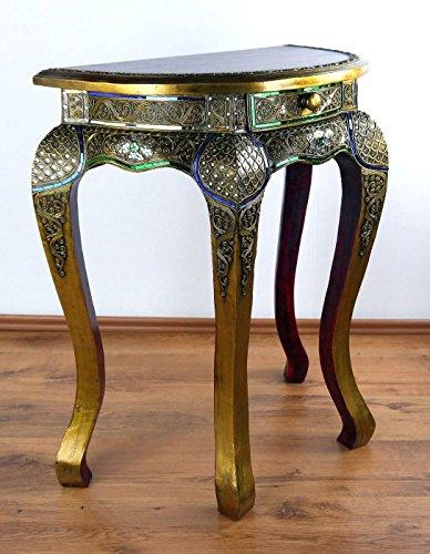 Tavolo Mezzo Tondo.Mezzo Tondo Opium Tavolo In Vetro Mosaico Design Con
