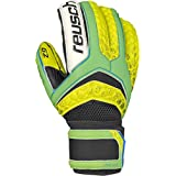 Reusch Soccer Pulse Prime G2 Ortho-Tec Goalkeeper Glove, Size 11, Yellow/Green, Pair