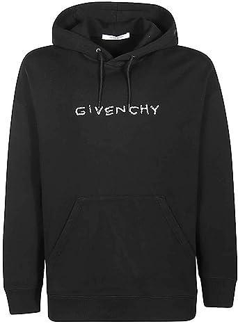 Givenchy Sweat-shirt homme noir avec capuche