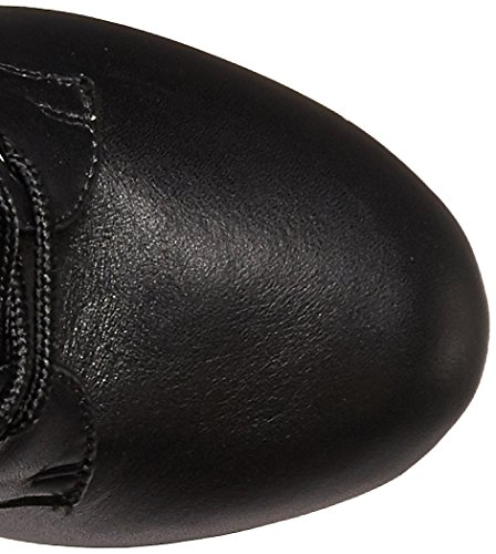 Pleaser DELIGHT-1020 Blk Leather/Blk Size UK 4 EU 37